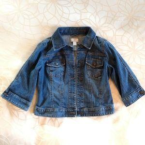 Ann Taylor loft size small denim jacket